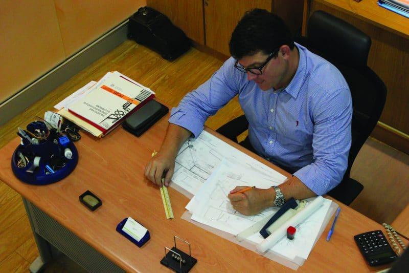 Interiores Oficinas Arq, Jorge Montalvo & Asociados